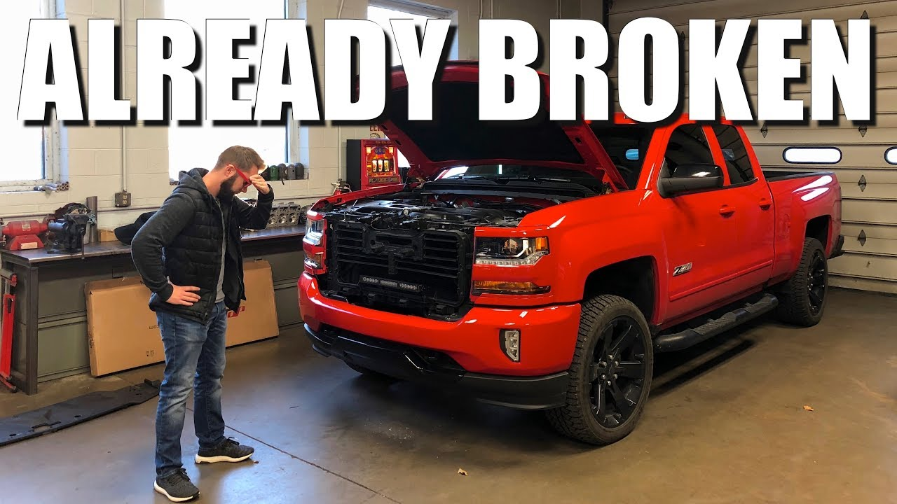 My New Chevy Truck Is Already Broken!! Should I Have Bought A Ford ...