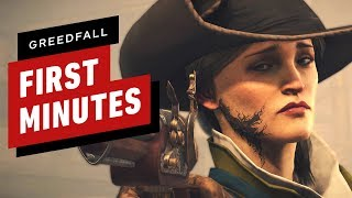 The First 17 Minutes of GreedFall Gameplay in 4K