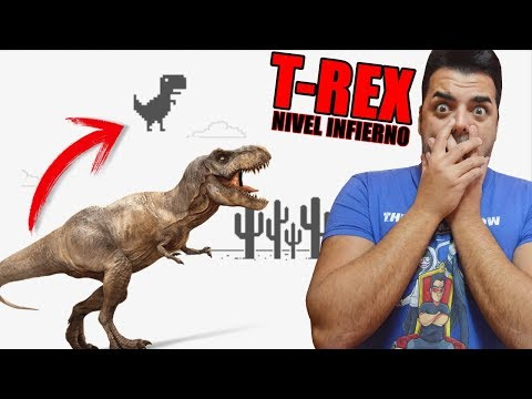 No DEBES jugar al T-REX OSCURO | El juego del dinosaurio de google