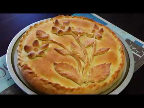 Как красиво и быстро украсить пирог