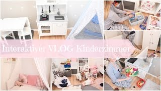 ERSTES MIT MACH VIDEO   Zusammen Kinderzimmer aufräumen   Interaktiver VLOG   Aufräumen   Sortieren