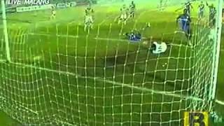 Gol Kontroversi Arema Vs CCM Australia (2 - 1) Di Final Menpora Cup 29 September 2013