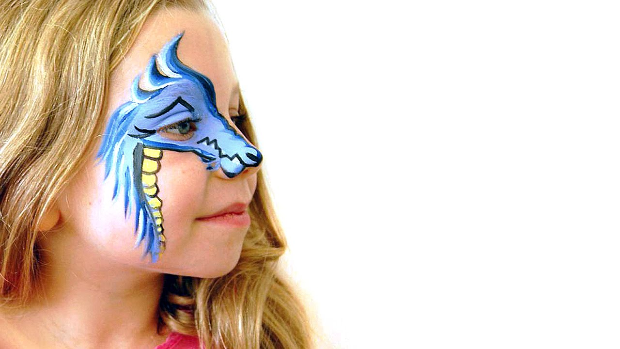 Face Paint For Dragon Costume