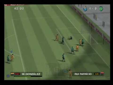pro evolution soccer 2010 ps2 Porto vs Sporting