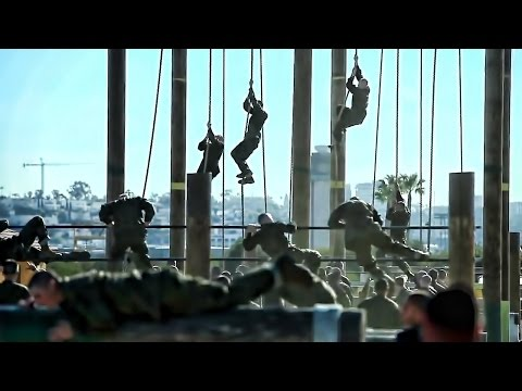 USMC Recruit Training Obstacle Course • San Diego Boot Camp
