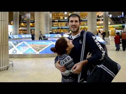 Long Distance Relationship - Airport Surprise (Israel - Holland)