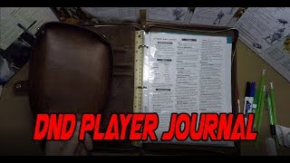 D&D Player Journal - Game Master Weekly