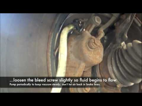 How To Bleed Your Brakes Or Flush Your Brake Fluid Youtube