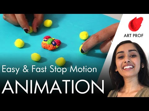 How to Create a Stop Motion Animation Video with Air Dry Clay