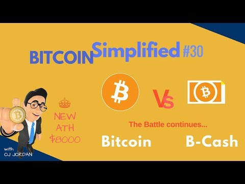 BTC hits a new ATH after a battle VS Bitcoin Cash | BITCOIN SIMPLIFIED #30