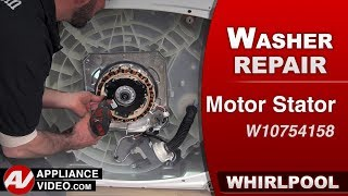 Whirlpool Washer - Slow spin stator issue - Diagnostic & Repair