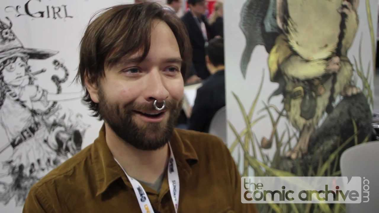 Cursed Pirate Girl Creator Jeremy Bastian at NYCC 2012 - YouTube