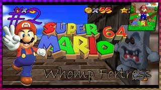 Super Mario 64 (1440p) - Whomp's Fortress/ Bowser Dark World - Pt.2