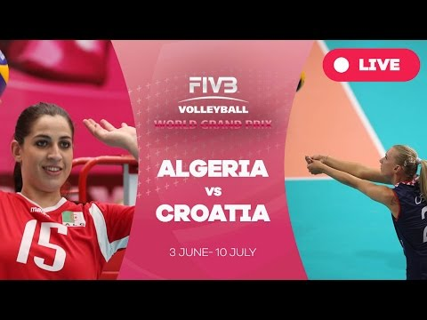 Algeria v Croatia - Group 3: 2016 FIVB Volleyball World Grand Prix