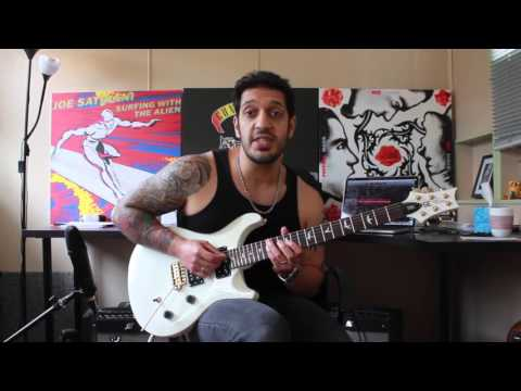How to play 'Through The Fire And The Flames'  Dragonforce Guitar Solo Lesson wtabs