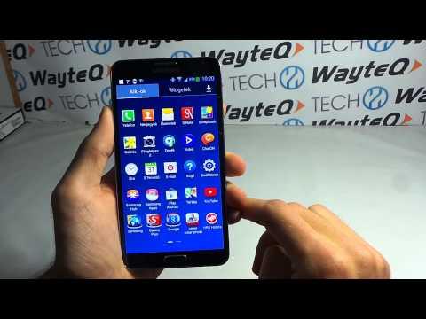 Samsung Galaxy Note 3 Android bemutató videó | Tech2.hu