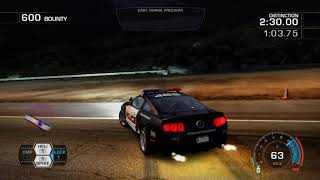 NFS: Hot Pursuit(2010): SCPD Event #18: Interceptor: East Gorge Canyon: Turn The Tables