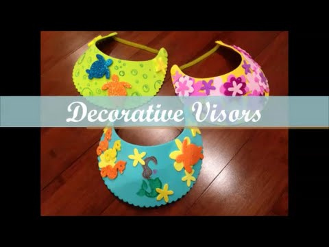 Decorative Visor