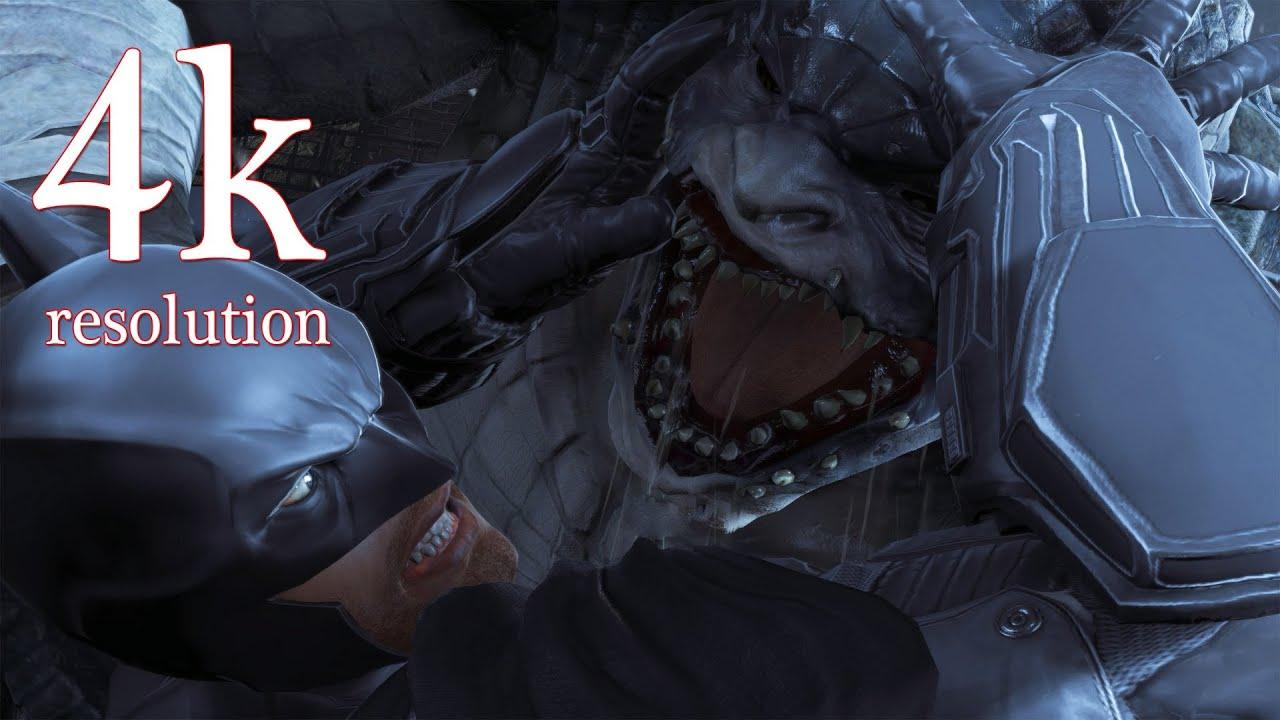 Batman Hd Wallpapers 1080p Batman Arkham Origins Defeat Killer Croc 4k Gameplay