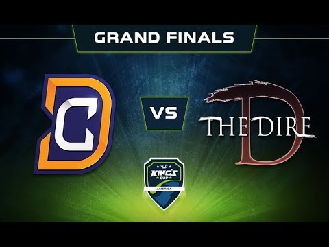 DC vs Dire Game 2 - King's Cup: America Grand Finals -@DakotaCox @GranDGranT @LacosteDota @KBBQDotA
