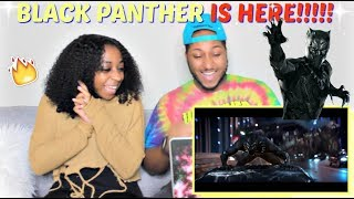 Black Panther Teaser Trailer REACTION!!!!!