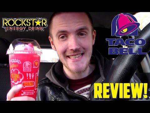 TravTries - Taco Bell's NEW! Rockstar Punched Freeze