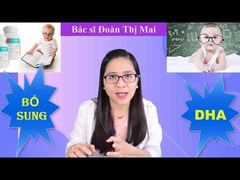 Khi nào nên bổ sung DHA cho trẻ?