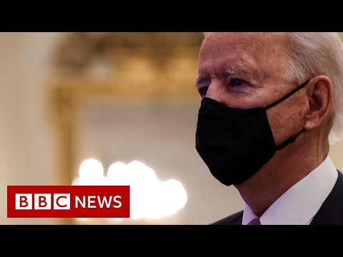 US President Joe Biden to unveil coronavirus strategy - BBC News