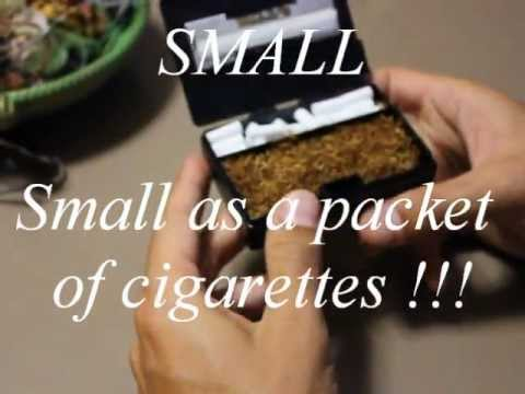 "Easy Rolling Tobacco Box ""Smoke Case"""