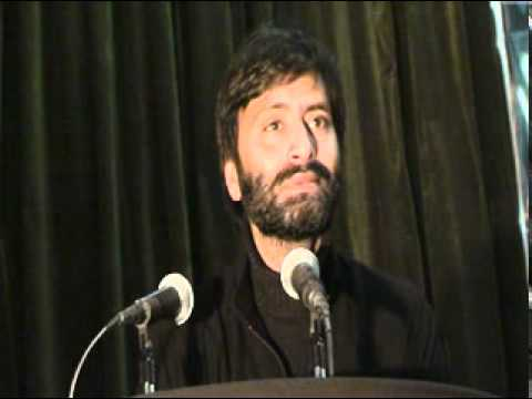 Yasin Malik speaking at Hussain Day function