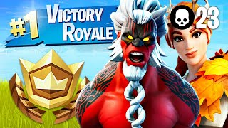 Winning in Duos with My Girlfriend! (Fortnite Battle Royale)