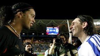 Ronaldinho XI vs Messi XI ● Epic Football Show
