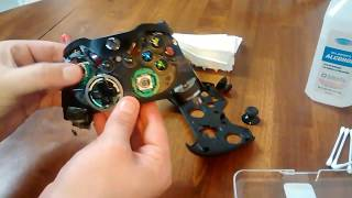 Xbox One Controller Disassembly (Cleaning/Repair)