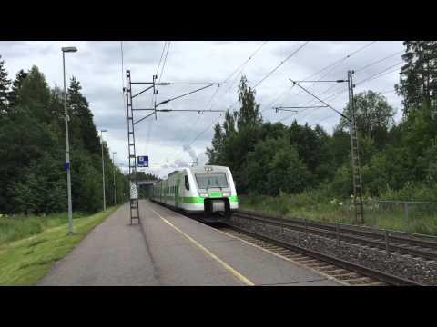 [VR] Pendolino service nr. 89 Helsinki to Kuopio passing Nuppulinna.