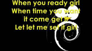 Sean Paul-Press it Up (Lyrics on screen)