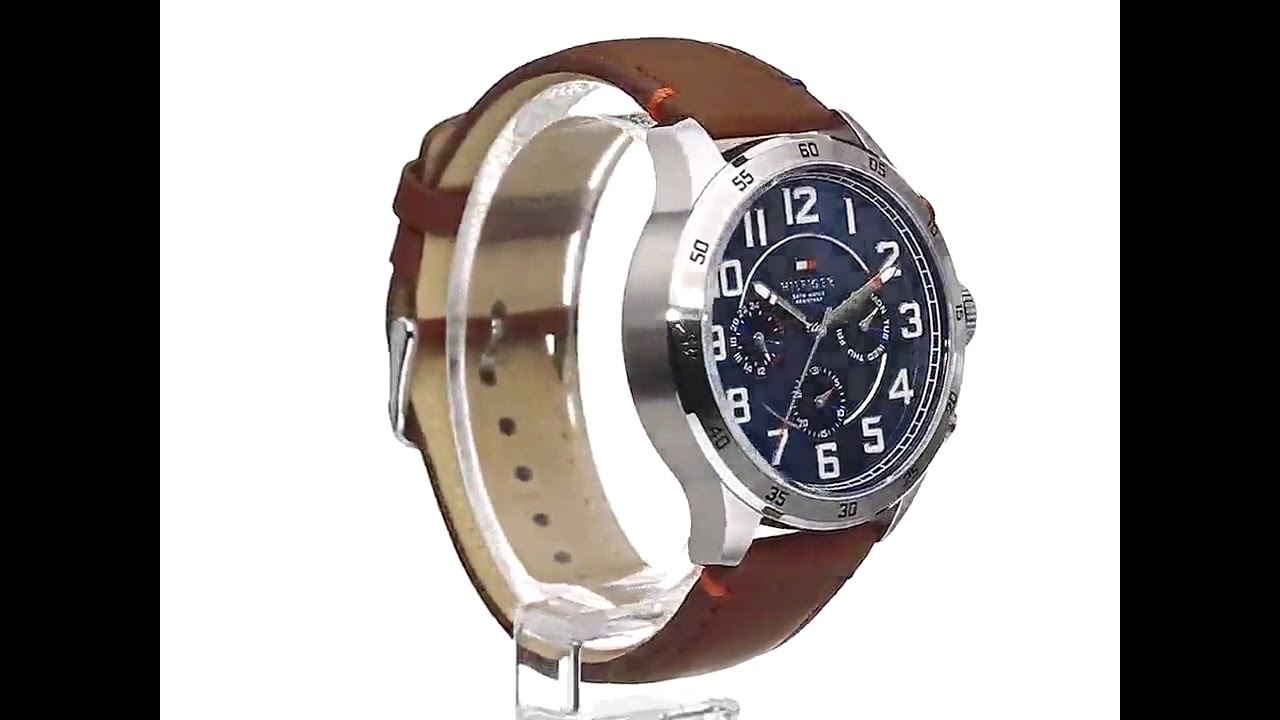 f42e5063 Tommy Hilfiger Men's 1791066 Stainless Steel Watch - YouTube