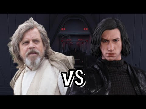 The Last Jedi Luke vs Kylo Ren - Jedi Academy