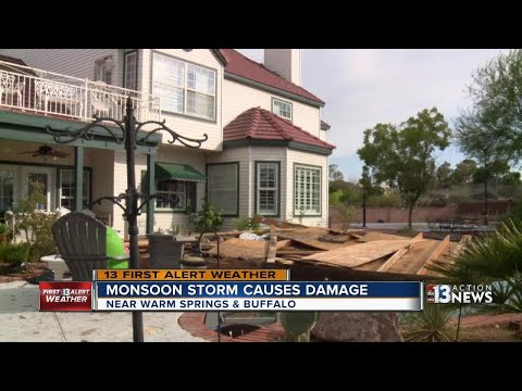 Wind causes more damage than rain