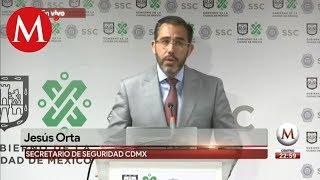 Conferencia de prensa sobre balacera en Plaza Artz