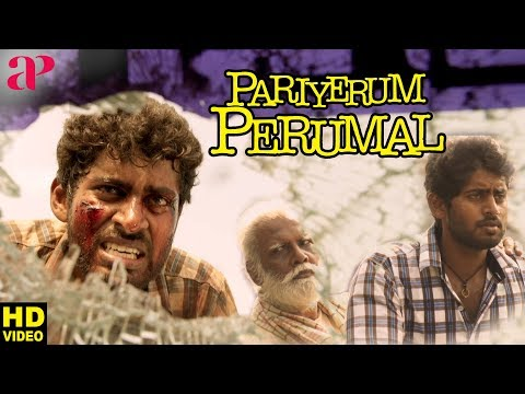 Pariyerum Perumal Movie Super Scene | Kathir Questions Marimuthu | Anandhi | பரியேறும் பெருமாள்