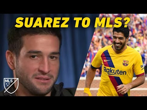 """""""Luis Suarez wants to come to MLS!"""" - Nico Lodeiro thinks it will happen 1"""