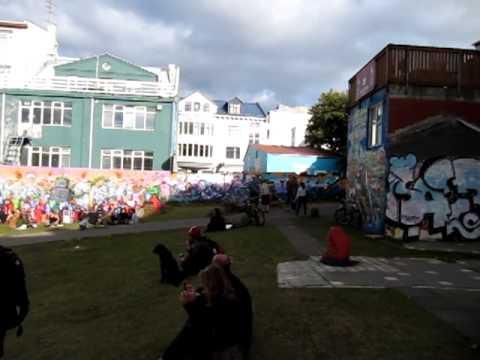 Graffiti park, Reykjavik, Islândia - Iceland