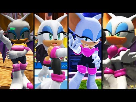 Evolution of Rouge the Bat (2001 - 2018)