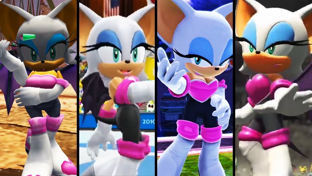 Evolution of Rouge the Bat (2001 - 2018) - YouTube