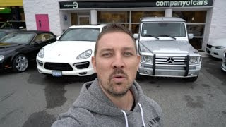 BUYSELLTRADE Episode 2 What To Get? Porsche Cayenne Turbo 500HP VS RENNtech AMG G55 580HP [4K]