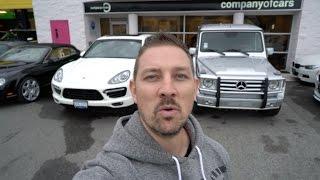 BUYSELLTRADE ep2 What To Get? Porsche Cayenne Turbo 500HP VS RENNtech AMG G55 580HP [4K]