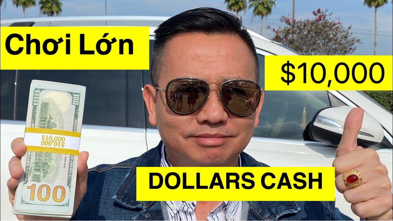 CHƠI LỚN CẦM $10/NGÀN CASH ĐÔ LA ( $235/TRIỆU ĐỒNG) ĂN MỪNG 145,000/NGƯỜI ĐĂNG KÝ😜 - download from YouTube for free