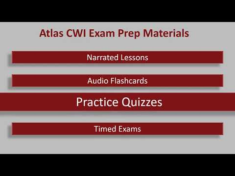 AWS CWI Part C (API 1104) Practice Tests and Exam Question