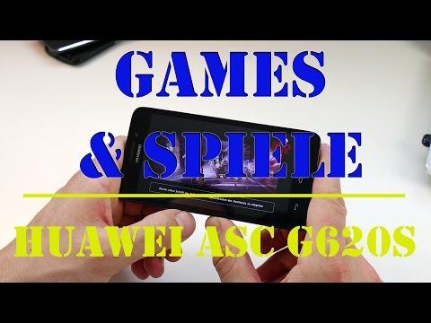 HUAWEI Ascend G620S: Gaming & Spiele Test (deutsch)