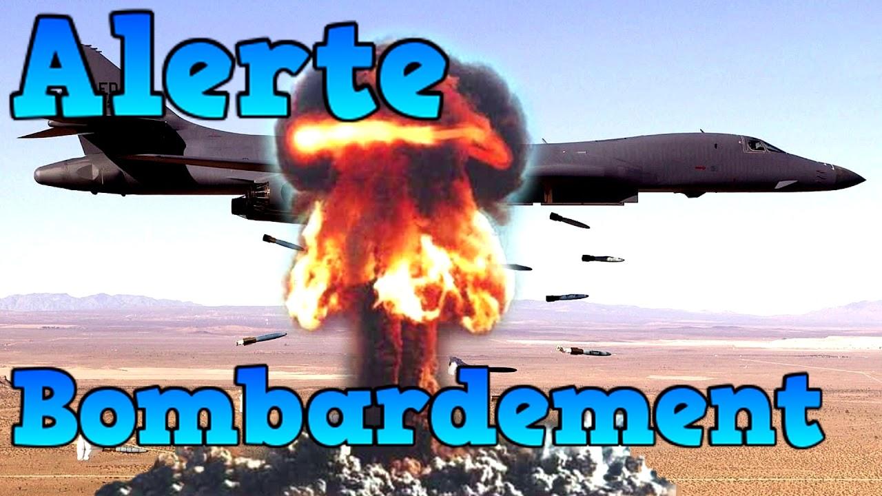 bruitage bombardement